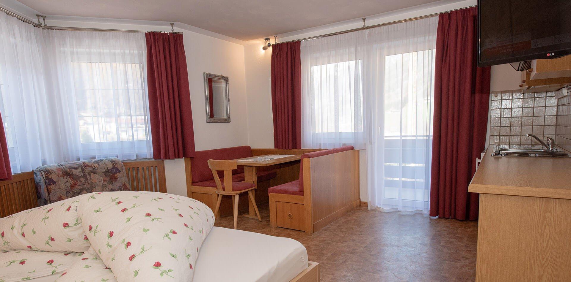 Einraumappartments im Ahrntal - Ferienwohnungen in Südtirol