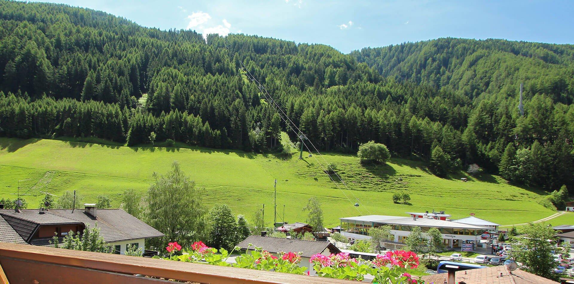 Appartement Residence Klausberg  - Ferienwohnungen im Ahrntal in den Dolomiten
